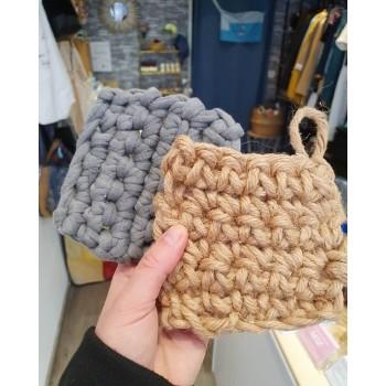 éponge tawashi coton