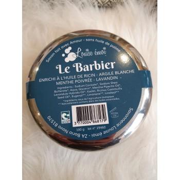 "Savon rasage - ""Le Barbier"" louise émoi"