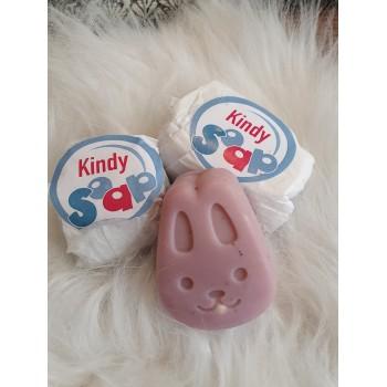 "Mini savon enfant avec jouet - ""Kindymini"""