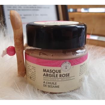 Masque D'argile Rose Peaux Sensibles
